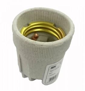 Патрон подвесной Пкр27-04-К43 керамический Е27 (200шт) (стикер на изделии) IEK