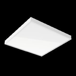 """Светодиодный светильник """"ВАРТОН"""" офисный встраиваемый/накладной 595*595*50мм 36 ВТ 6500К"""