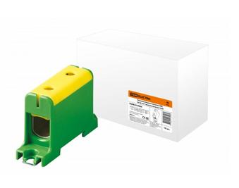 Клемма вводная силовая КВС 16-95 кв.мм. желтая/зеленая TDM SQ0833-0006