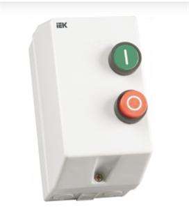 Контактор КМИ10960 9А в оболочке 380В/АС3 IP54 IEK