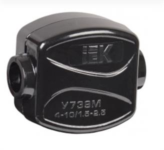Зажим кабельный ответвительный У-739М (4-10/1,5-2,5мм2) IP20 IEK