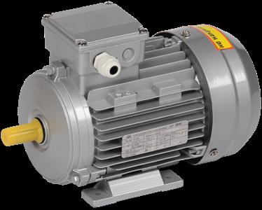 Электродвигатель асинхронный трехфазный АИР 63A6 380В 0,18кВт 1000об/мин 1081 DRIVE IEK
