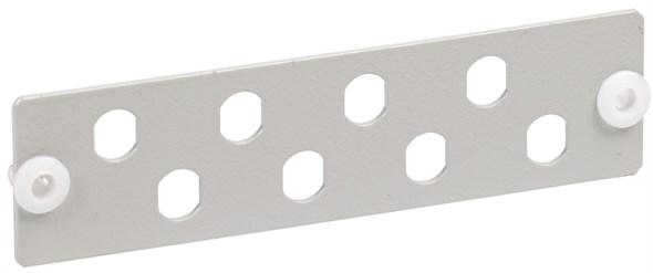 ITK Панель для 8-ми оптических адаптеров (FC или ST в 19  кросс)