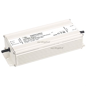 Блок питания ARPJ-LG365200 (200W, 5200mA, PFC) (ARL, IP67 Металл, 2 года)