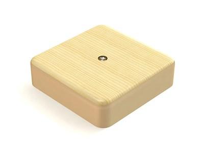 Коробка распаячная КР 75х75х20 ОП сосна IP40, инд. штрихкод TDM SQ1401-0403