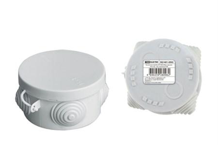 Коробка расп. ОП D85х40 IP54 4 ввода (штрихкод) TDM SQ1401-0502