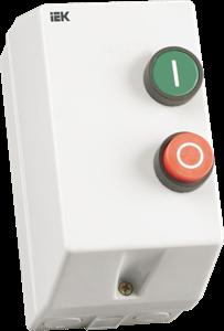 Контактор КМИ11260 12А с индикацией 230В/АС3 IP54 IEK