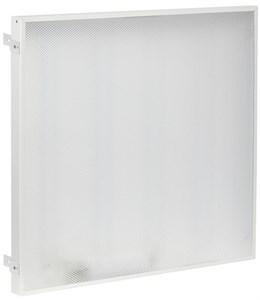 Светильник светодиодный ДВО 404045-MP PRO Грильято 40Вт 4500К 588х588х45мм призма IEK