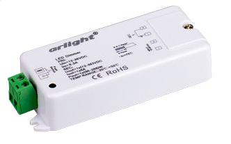 Диммер SR-1009CS (12-36V, 96-288W) (ARL, IP20 Пластик, 3 года)