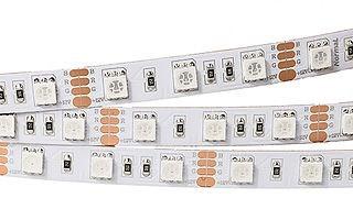 Лента RT2-5050-60-12V RGB (300 LED) (Norm, 13 Вт/м, IP20)