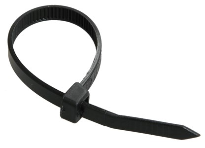 Хомут кабельный Хкн 4,8х350мм нейлон черный (100шт) IEK