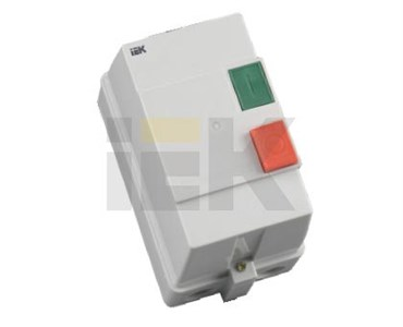 Контактор КМИ22560 25А в оболочке 380В/АС3 IP54 IEK