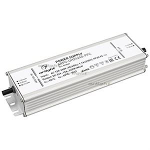 Блок питания ARPV-UH24240-PFC (24V, 10.0A, 240W) (ARL, IP67 Металл, 7 лет)