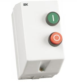 Контактор КМИ11860 18А в оболочке 380В/АС3 IP54 IEK