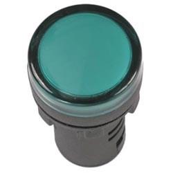 Лампа AD16DS(LED)матрица d=16мм зеленый 230В AC IEK