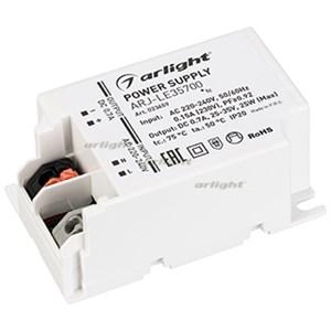Блок питания ARJ-LE35700 (25W, 700mA, PFC) (ARL, IP20 Пластик, 3 года)