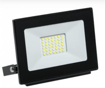 Прожектор светодиодный СДО 06-30 IP65 6500K черный IEK