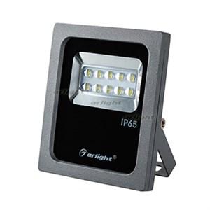 Светодиодный прожектор AR-FLAT-ARCHITECT-10W-220V Day (Grey, 50x70 deg) (arlight, Закрытый)