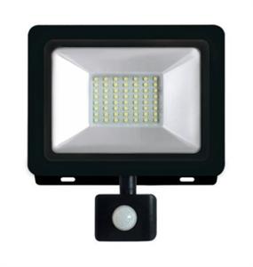 Прожектор светодиодный Elementary LED 30W 2100lm IP65 6500К с датчиком движения 1/24 Gauss