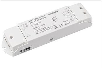 Контроллер SMART-K2-RGBW (12-24V, 4x5A, 2.4G) (ARL, IP20 Пластик, 5 лет)