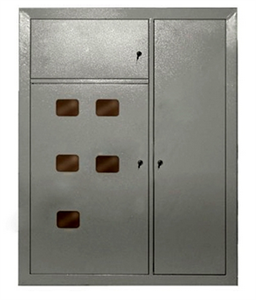 Корпус металлический ЩЭ-5-1 36 УХЛ3 IP31 IEK