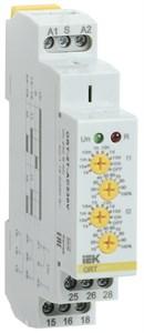 Реле времени ORT 2 контакта 230В AC с независимыми уставками IEK
