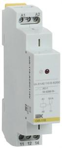 Реле промежуточное модульное OIR 1 контакт 16А 110В AC/DC IEK
