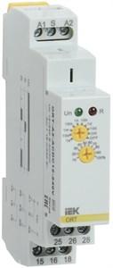 Реле задержки включения ORT 2 контакта 12-240В AС/DC IEK