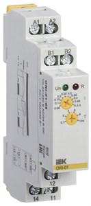 Реле контроля тока ORI 0,05-0,5А 24-240В AC/24В DC IEK