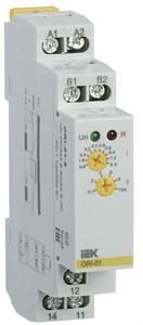 Реле контроля тока ORI 0,8-8А 24-240В AC/24В DC IEK