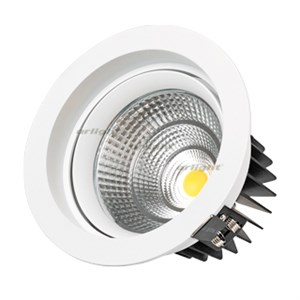 Светодиодный светильник LTD-140WH 25W Day White 60deg (ARL, IP40 Металл, 3 года)