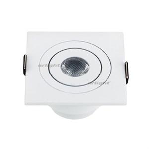 Светодиодный светильник LTM-S60x60WH 3W Warm White 30deg (ARL, IP40 Металл, 3 года)