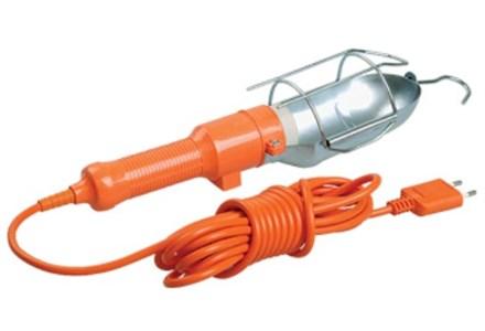 Светильник переносной ручной УП-1Р плоская вилка (с выкл.) 2х0,75мм2 2Р 5м IEK