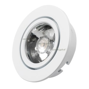 Светодиодный светильник LTM-R65WH 5W White 10deg (ARL, IP40 Металл, 3 года)