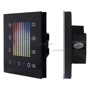 SR-2300TP-IN Black (DALI, RGBW) панель Arlight