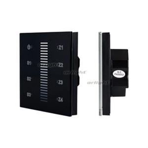 Панель Sens SR-2830A-RF-IN Black (220V,DIM,4 зоны) (ARL, IP20 Пластик, 3 года)