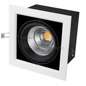 Светильник CL-KARDAN-S190x190-25W Warm3000 (WH-BK, 30 deg) (ARL, IP20 Металл, 3 года)