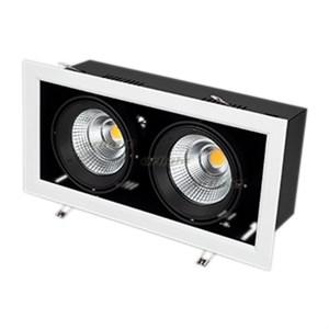 Светильник CL-KARDAN-S375x190-2x25W White6000 (WH-BK, 30 deg) (ARL, IP20 Металл, 3 года)