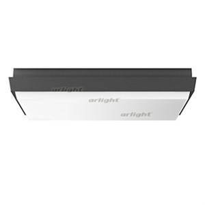 Светильник LGD-AREA-S300x300-30W Warm3000 (GR, 110 deg, 230V) (ARL, IP54 Металл, 3 года)