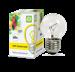 Лампа накаливания ШАР P45 60Вт 230В Е27 матовый 630Лм ASD - фото 141069