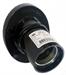 Патрон настенный угловой Пкб27-04-К31 карболитовый Е27 черный (индивидуальный пакет) IEK - фото 59262