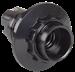 Патрон с кольцом Пкб14-04-К11 карболитовый Е14 черный (индивидуальный пакет) IEK - фото 59266