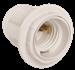 Патрон с кольцом Ппл27-04-К12 пластик Е27 белый (индивидуальный пакет) IEK - фото 59764