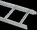 Лоток лестничный 80х400х3000-1,2 HDZ IEK - фото 59961