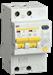 Дифференциальный автоматический выключатель АД12S 2Р 40А 100мА IEK - фото 61973