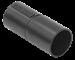 Муфта труба-труба GI25G черная IEK - фото 62052