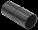 Муфта труба-труба GI32G черная IEK - фото 62053