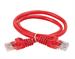 ITK Коммутационный шнур (патч-корд) кат.5E UTP 0,5м красный - фото 62173