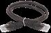 ITK Коммутационный шнур (патч-корд) кат.5E UTP 0,5м черный - фото 62176