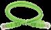 ITK Коммутационный шнур (патч-корд) кат.5E UTP 1,5м зеленый - фото 62187